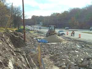 Route 1 construction