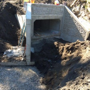 Bypass Culvert for Flood Control